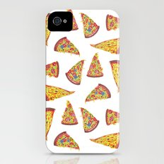 Pizza Pattern iPhone (4, 4s) Slim Case