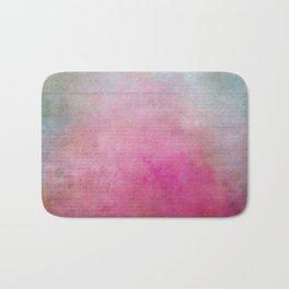 Colorful Vintage Paper Texture Bath Mat