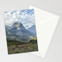 Catching a View from Going to the Sun Road Stationery Cards