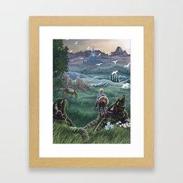 Hyrule Field Framed Art Print