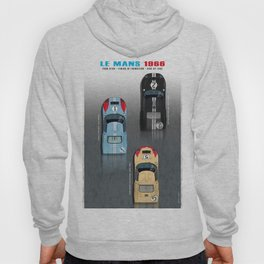 GT40 Le Mans 1966, Finish side by side Hoody