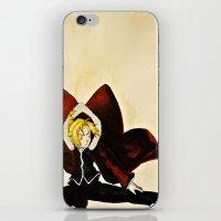 fullmetal alchemist iPhone & iPod Skins featuring Fullmetal Alchemist - Edward Elric by VoicesRantOn