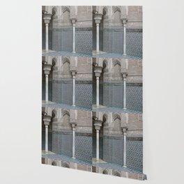 Marocco Columns Mosaic Wallpaper