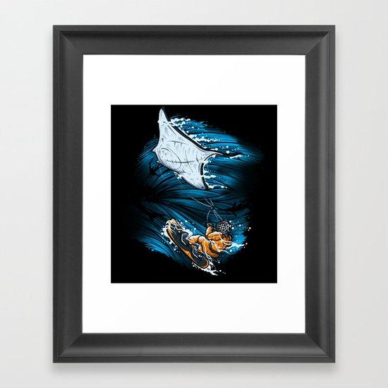 SUBOCEANIC EXTREME Framed Art Print