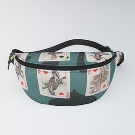 Persian Playing Cards Fanny Pack