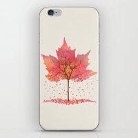 fall iPhone & iPod Skins featuring Fall by Dan Hess