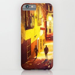 Alleywayin the colonial mining city of Guanajuato- Mexico iPhone Case