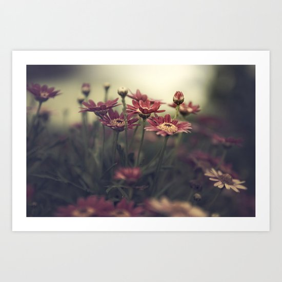 all flowers in time Art Print