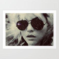 Holy Blondie Art Print