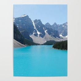 Moraine Lake, Banff Canada Poster