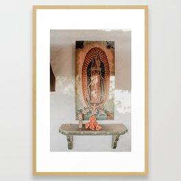 Our Lady Framed Art Print