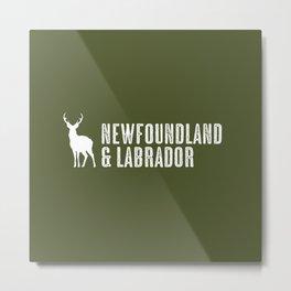 Deer: Newfoundland & Labrador, Canada Metal Print