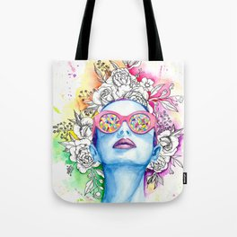 Summer Queen Tote Bag