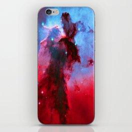 Eagle Nebula Stellar Spire iPhone Skin