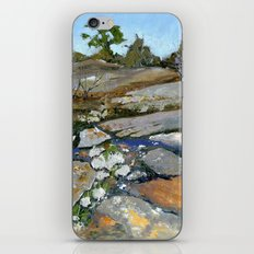Sky Blue Puddles iPhone & iPod Skin
