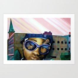 Optical Illusions Art Print