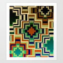 Geometric play IV Art Print