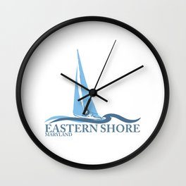 Eastern Shore - Maryland. Wall Clock