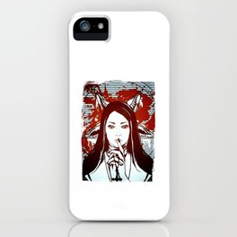 Chruch Of Lilith Merch iPhone Case