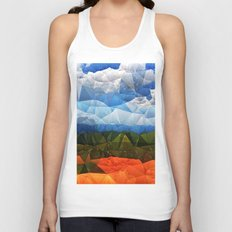 Southern Red Clay Unisex Tank Top