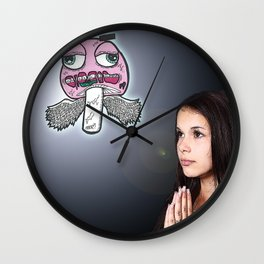 So What If Jesus Turned Water Into Wine, I Turned My Student Loan Into Vodka Once, Your Move Jesus.. Wall Clock
