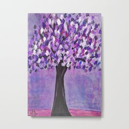 Purple autumn Metal Print