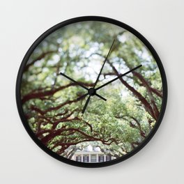 Oak Alley Wall Clock