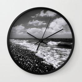 BEACH DAYS XXII BW Wall Clock