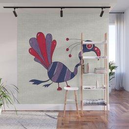 Purple Turrrkey Wall Mural