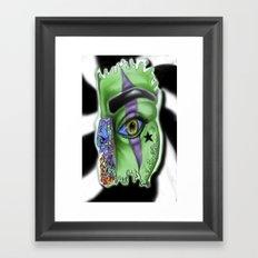 SPLASH ... D.N.A. Framed Art Print