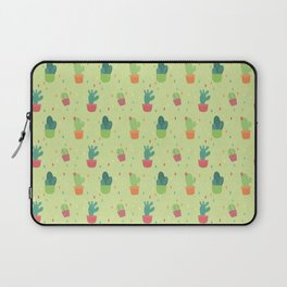 Cactus Party Pattern Laptop Sleeve