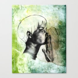 Speak No Evil Canvas Print