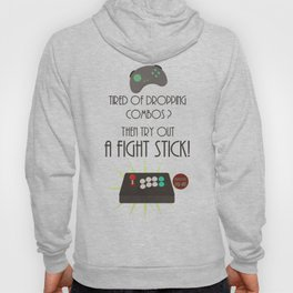 Try out an Arcade stick! Hoody