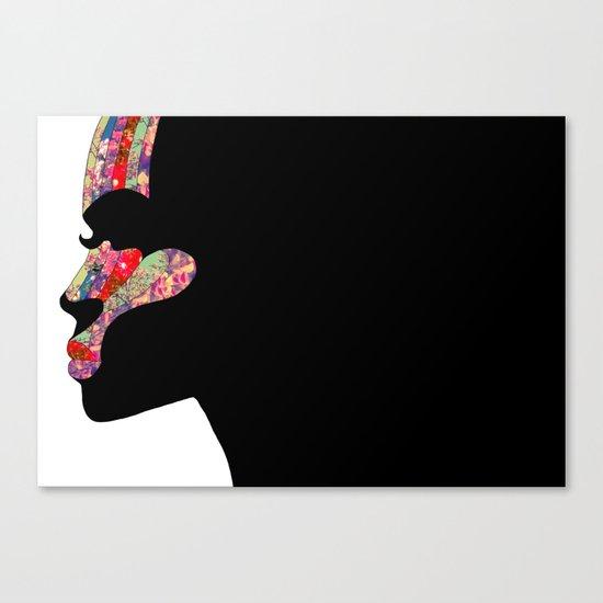 EL PERFIL Canvas Print