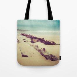 Blue Ocean Path Tote Bag
