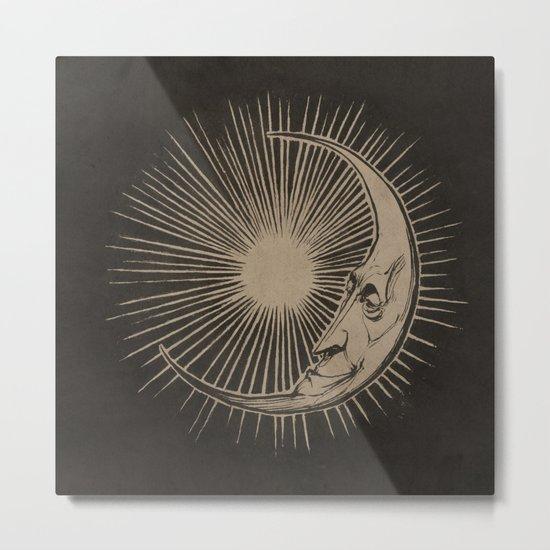 The Man in the Moon  Metal Print