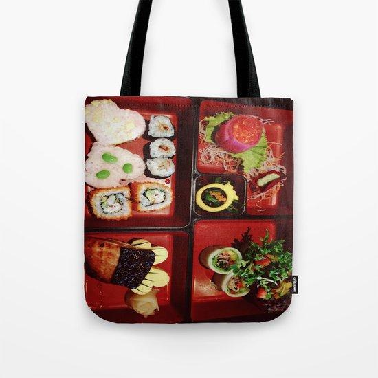 Cute Bento Tote Bag