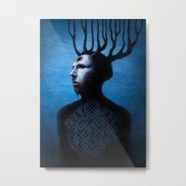 Mephistopheles Rising Metal Print