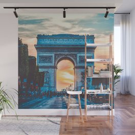 France Photography - Arc De Triomphe In The Sunrise Wall Mural