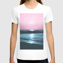 Sunset Ocean Bliss #5 #nature #art #society6 T-shirt