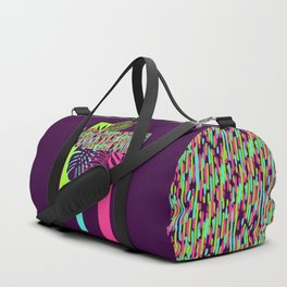 Neon Exotic #society6 #tropical Duffle Bag
