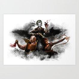 Deadly Trio  Art Print