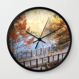 The Path Below  Wall Clock