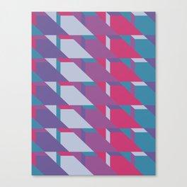 Abstract Drama #society6 #violet #pattern Canvas Print