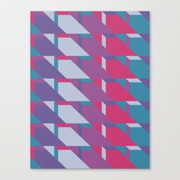 Abstract Drama #society6 #violet #pattern Canvas Print