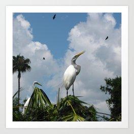 Dino Bird Art Print