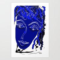 friendship Art Prints featuring friendship by sladja