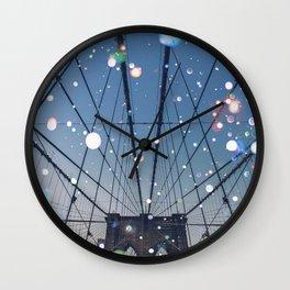 New York City Lights Wall Clock