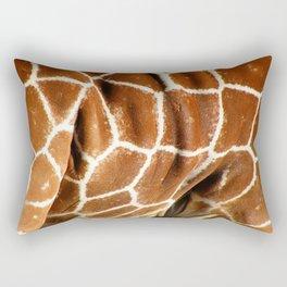Giraffe Skin Close-up Rectangular Pillow