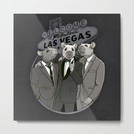 Rat Pack Metal Print